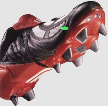 soccer metal spikes shoes